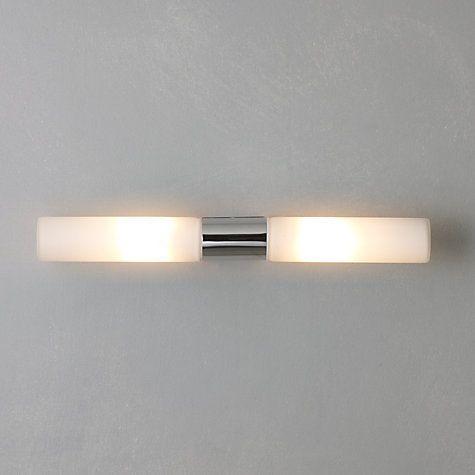 Buy John Lewis Padova Over Mirror Bathroom Light Online at johnlewis.com £70 = $ 126 op sy draai???
