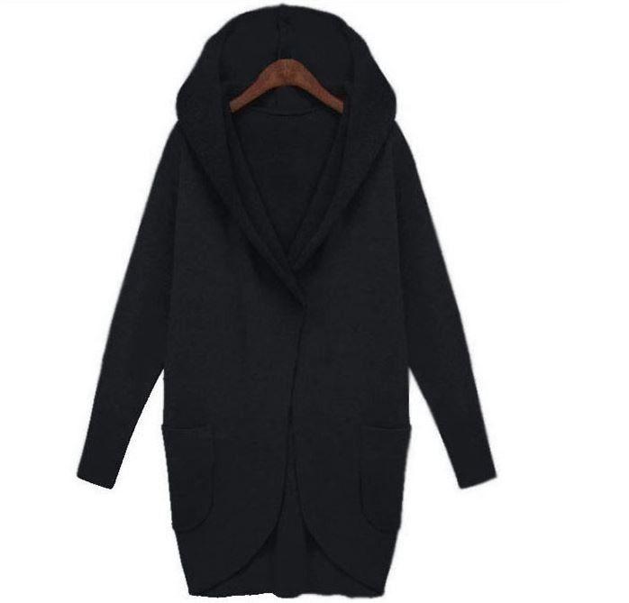 Dámský oversize kabát s kapucí černý – Velikost L Na tento produkt se vztahuje nejen zajímavá sleva, ale také poštovné zdarma! Využij této výhodné nabídky a ušetři na poštovném, stejně jako to udělalo již velké …