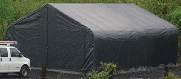 Semi Truck Portable Shelter : Images about garage storage shelter on pinterest