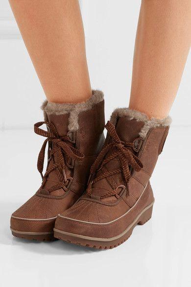 Sorel - Tivoli Ii™ Premium Waterproof Textured-leather Boots - Brown - US