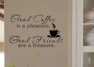 Coffee Theme Wall Decals | Easy Kitchen Decor