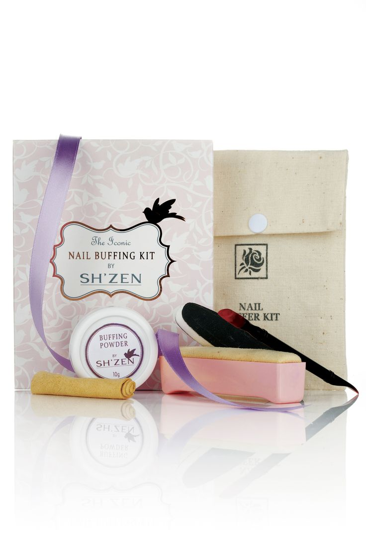 Sh'zen's iconic Nail Buffing Kit is a perfect gift for your best friend! We love!