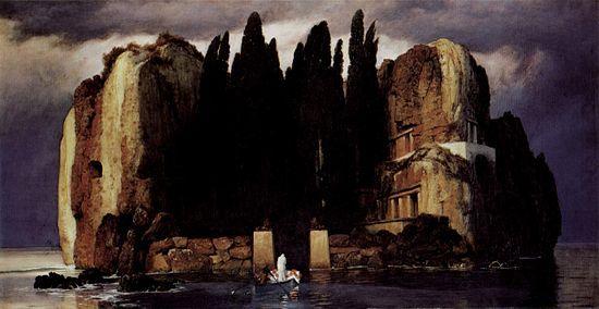 Arnold Böcklin — L'île des morts, 1886