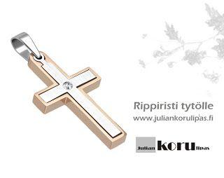 Julian Blogi: Ruusukulta säväyttää tyttöjen rippiristeissä. Rippiristit tytölle ja pojalle, rrippiristit netistä www.juliankorulipas.fi
