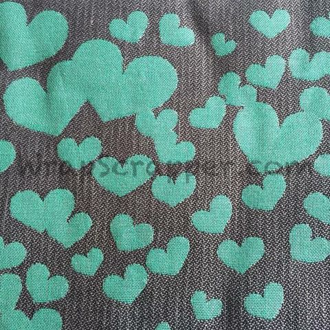 Kokadi Emerald Hearts Wrap Scrap