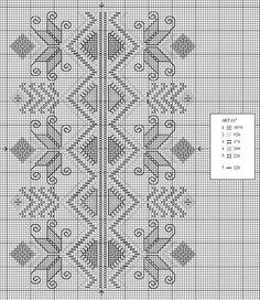 Free x stitch chart.