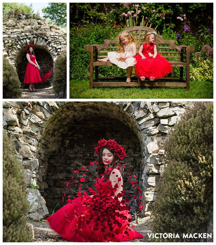 Styled photoshoot at Glanseven Hall, Mid Wales UK. #weddings #thedress #bridal #bespokedresses #red