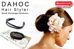 Ciptakan Dengan Mudah & Cepat Sanggul Indah Yang Kamu Mengenakan Dahoc Hair Styler Hanya Rp.29,000 - www.evoucher.co.id #Promo #Diskon #Jual  klik > http://www.evoucher.co.id/deal/Dahoc-Hair-Styler  Hair styler adalah alat sederhana yang mampu membuat sanggul yang elegan dalam berbagai model. Pemakaian sangat mudah,tak perlu waktu lama, secepat anda membuat ekor kuda rambut, hanya dalam hitungan detik.