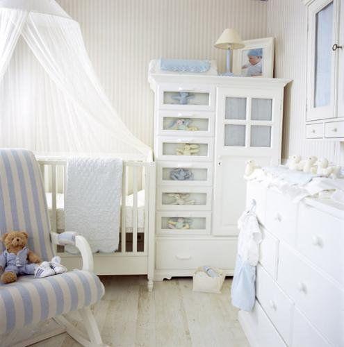 Blue & White Nursery...love!
