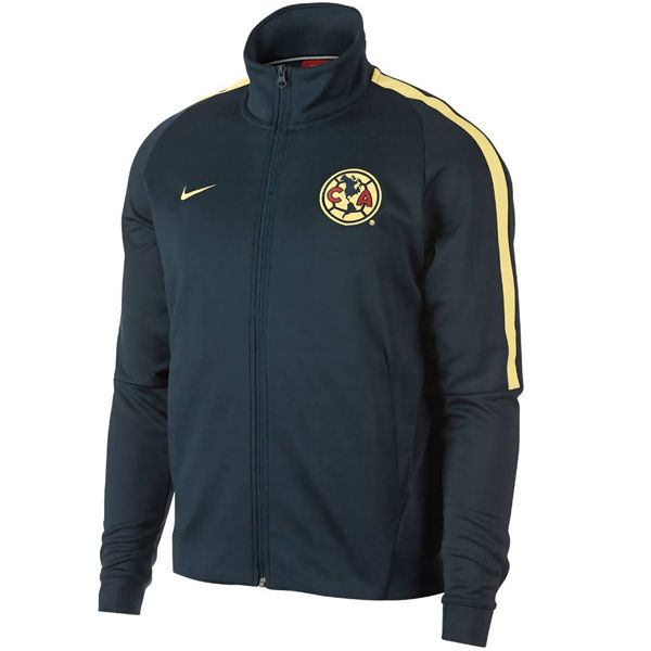 Nike Men's Club America Track Jacket Armory Navy/Lemon Chiffon
