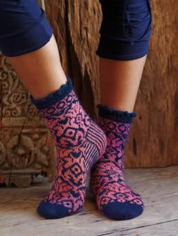 Schachenmayr Jacquard Socks: Free Pattern