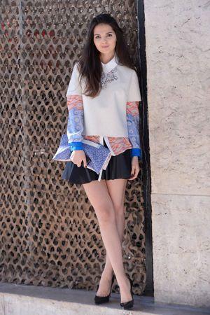 ビジューネックレスで大人っぽさを取り入れた社会人コーデの参考にしたいスタイル・ファッションまとめ♪