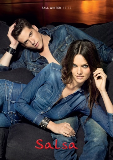Salsa - FW 2012-13 catalogue  #salsa #denim #jeans #fashion #fw12 #aw12 #collection #campaign