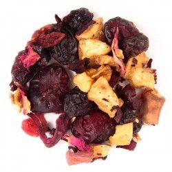 Moras - Origen: Mezcla de la casa.Ingredientes: Arándano, manzana, cereza, arándanos, frambuesa, uvas, flor de jamaica, escaramujo y pétalos de rosa.Perfecto para preparar caliente o frío.