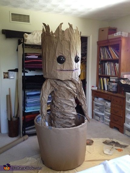 Dancing Baby Groot Costume (Guardians of the Galaxy)