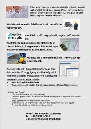 Felelős műszaki vezetés, e-napló [Pepita Hirdető]