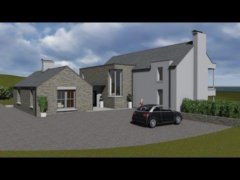 irish house plans type mod084 exterior youtube house designs rh pinterest com