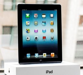 The New IPad with Retina display ............I never leave home without it!!!