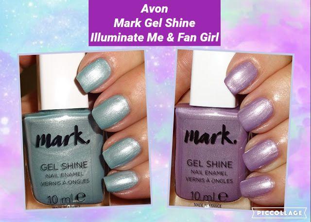 Wendy S Delights Avon Mark Gel Shine Nail Enamels Illuminate Me Fan Girl Avonuk Avon Avonuk Avoncosmetics Avonnail Shine Nails Avon Nails Lilac Nails