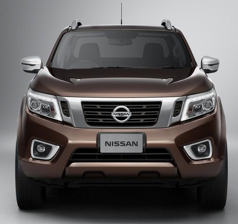 Front view of #Nissan #Navara #PickupTruck 2015 New Model Nissan Navara NP300 Bangkok, Thailand available for export at Jim Autos Thailand http://toyota-dealer.org/2015-nissan-navara-np300.html
