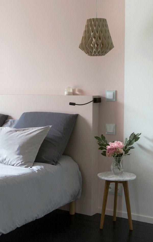 Een muurtje achter het bed | HOMEASE