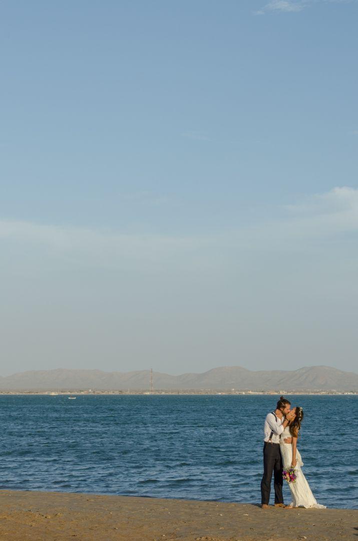 Matrimonio Angelica & Gabriele, Cabo de la Vela, Guajira, Colombia. Fotografia de cherrymoon.co