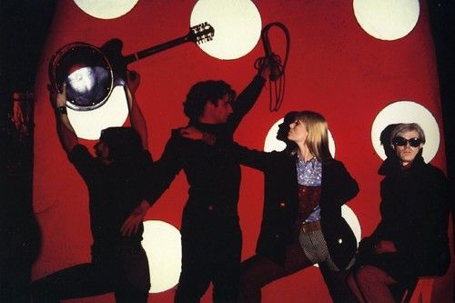 the velvet underground & Nico/the factory/andy warhol