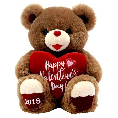 "Valentines Day Gift Plush Teddy Bear 2018 ""Happy Valentine's Day"" - Big Sale Online Shopping USA"