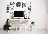 Classic to Eclectic: Office Scale: 3