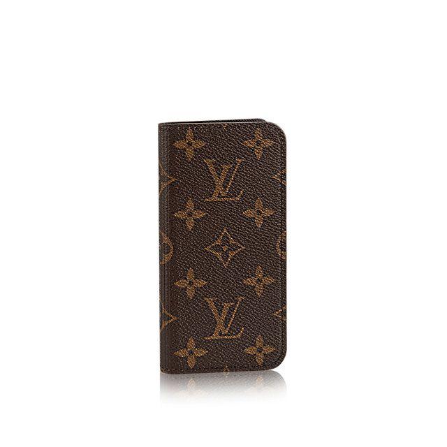 iPhone 6 Folio - Monogram Canvas - Small Leather Goods   LOUIS VUITTON