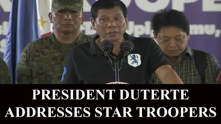 President Duterte Addressing Star Troopers in Isabela - http://www.dutertenewstoday.com/president-duterte-addressing-star-troopers-in-isabela/