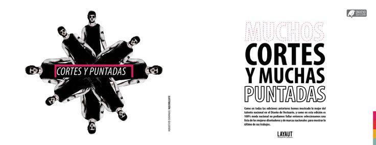 y contamos con el trabajo de:  Arlette Rojas  Claudio Paredes + Jonatan Barrera La Burla  Or Vestuario masculino  josefina Barros  Paula Blanche Ilustraciones  Les Gutierrez La Croquera de Emma  Ignacio Lechuga  Y muchos más !!   http://issuu.com/layautmagazine/docs/layaut__7