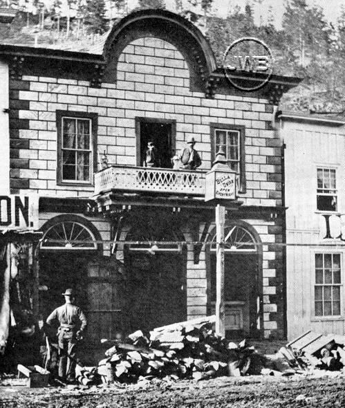 Bella Union was a saloon and theater in Deadwood, South Dakota, which opened on September 10, 1876. The proprietor was Tom Miller, an aggressive businessman who would buy several neighboring properties as well. In November 1878, Tom Miller went bankrupt, and the Bella Union became a grocery store downstairs, and a meeting hall named Mechanics' Hall upstairs.