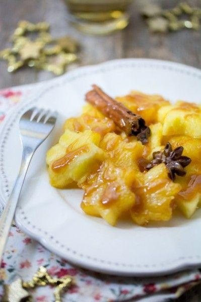 Ananas caramélisé aux épices {Menu étoilé} | Jujube en cuisine