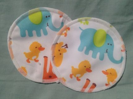 Bamboo nursing pads with a twist. Minky or Polyester outer. Each nursing pad has…
