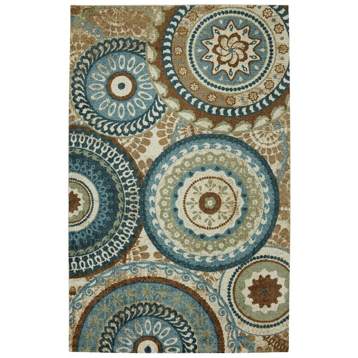 Forest Rings Multi Rug 8 X 10 Ping Great