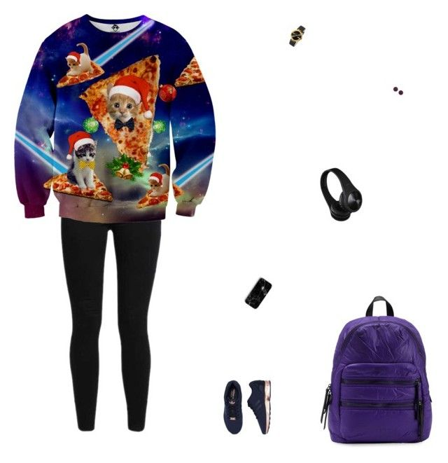 """""""🌌🌌🌌"""" by celmad on Polyvore featuring Levi's, adidas, Liebeskind, Gucci and H&M"""