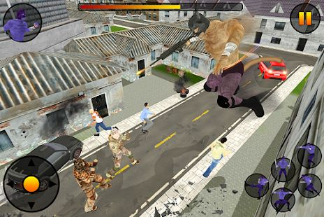 #supercat #hero #city #crime #battle #action #simulator #3D #environment #wildanimal #civilian #fight #superpower #motorbike #kidnap #catgirl #gangster #android #game