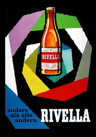 Vintage Rivella Drink Posters Prints