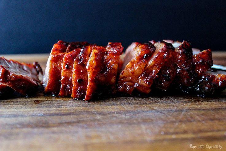 Sweet and Sticky Chinese BBQ Pork (aka Char Siu)