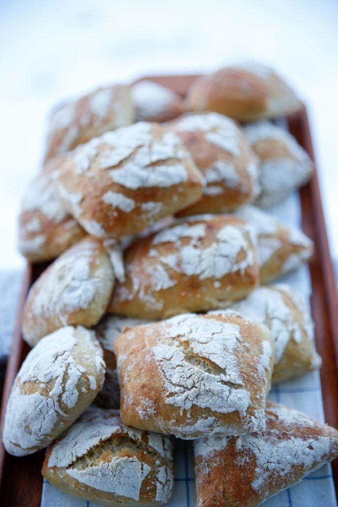 Kalljäst bröd med morot och råg