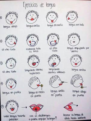Ejercicios orofaciales / Estimulando la lengua | Fisioterapia y Terapia…                                                                                                                                                                                 Más