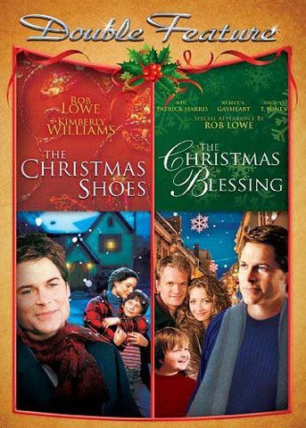 The Christmas Shoes/The Christmas Blessing (Double Feature) Movies (DVD / Blu-ray) & Video Games up to 80% OFF at www.iNetVideo.com