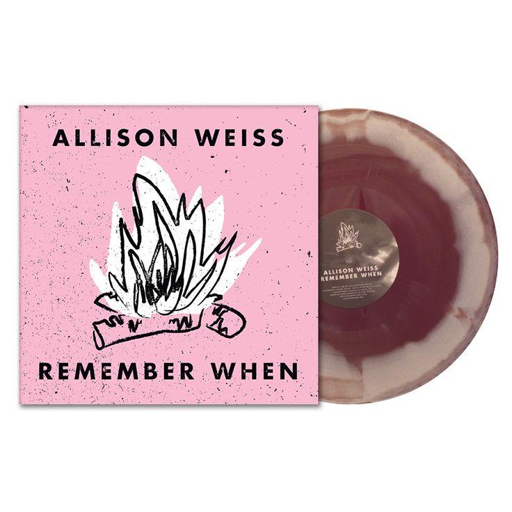 Lazy Labrador Records - Allison Weiss · Remember When · Vinyl LP · Coffee Swirl, $44.99 (http://lazylabradorrecords.com/allison-weiss-remember-when-vinyl-lp-coffee-swirl/)