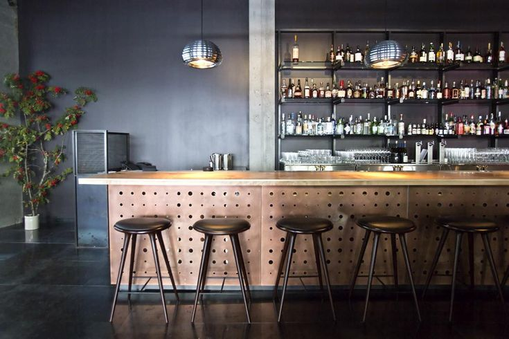 Mater High Stool @ Legendary Cocktail Bar Vessel Returns to Downtown - Eater Inside - Eater Seattle