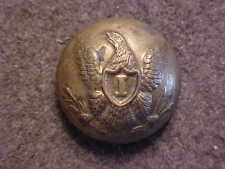 VERY RARE 13/16 CIVIL WAR UNION ARMY INFANTRY I OFFICER UNIFORM COAT BUTTON