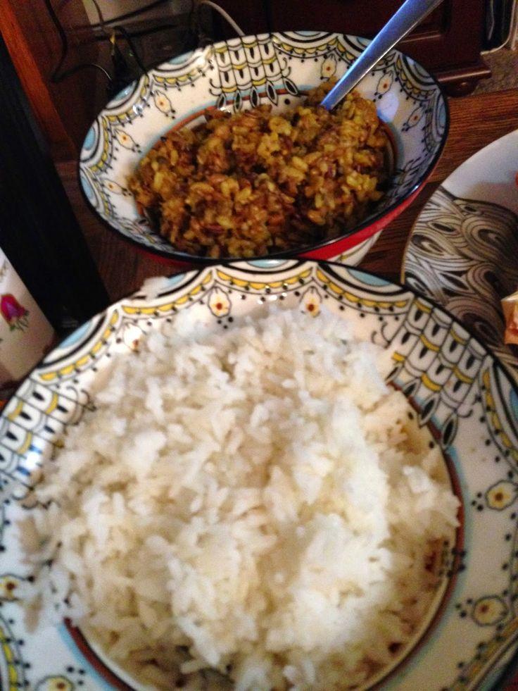 Aladdin Theme Dinner: Curry and Rice