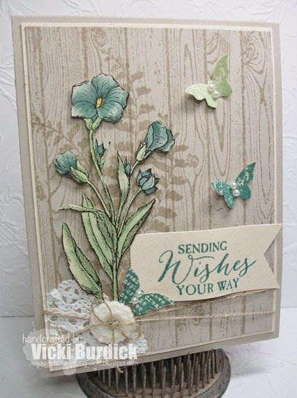 Stampin' Up! Butterfly Basics, hardwood …