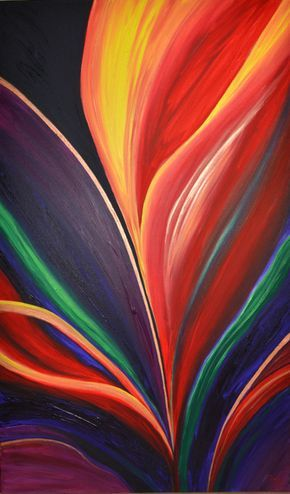 """Hollandia"" by Stephanie Jack - 36in x 60in - acrylic on canvas - 2013 - $595"
