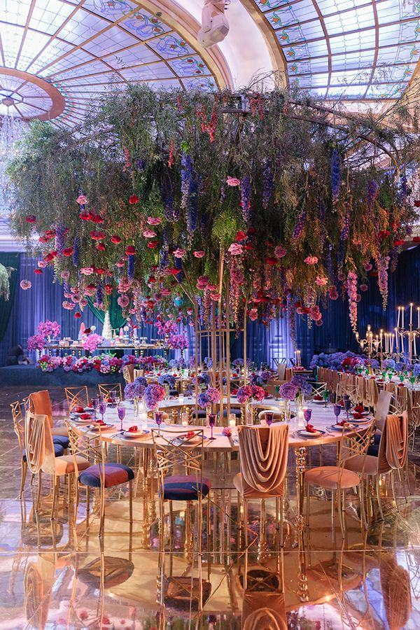 Sophisticated Floral Fairytale at Taglyan Complex- Chameleon Chair Collection featured in Strictly Weddings.